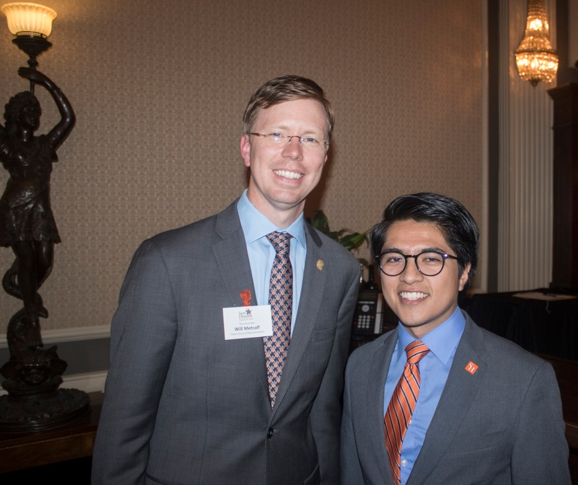 Representative Will Metcalf, Brian Aldaco, Sam Houston Austin Internship Program, SHAIP, LEAP, SHSU