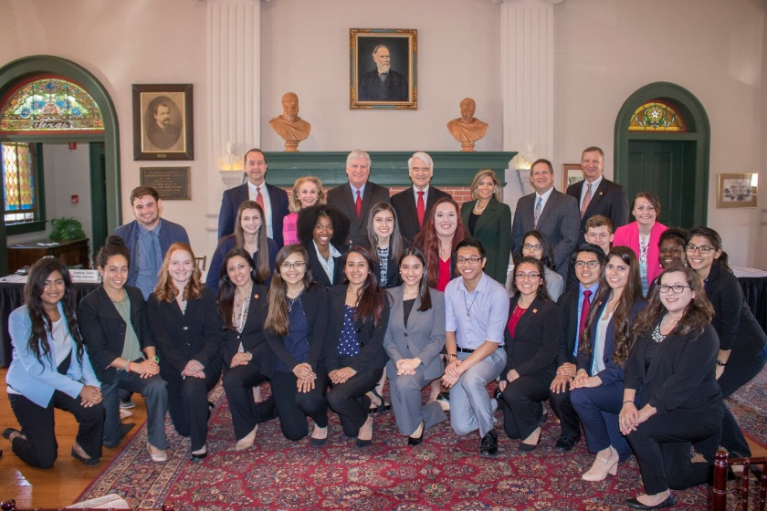 Texas Supreme Court, Center for Law Engagement And Politics, LEAP Center, SHSU, TX Supreme Court Justices