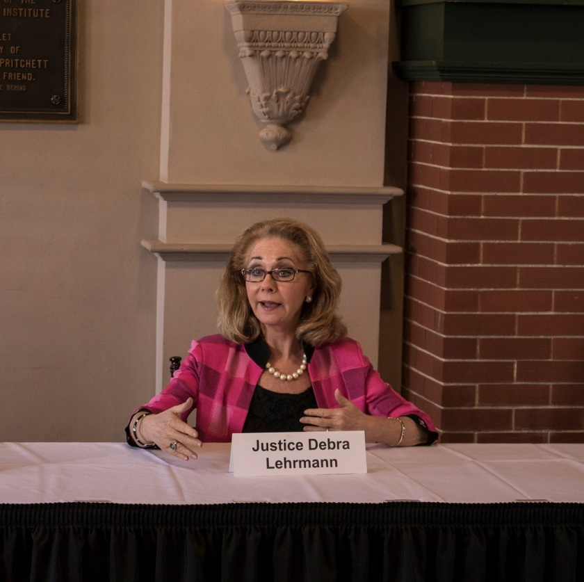 Texas Supreme Court, Center for Law Engagement And Politics, LEAP Center, SHSU, Debra Lehrmann