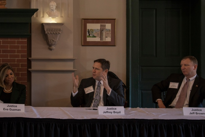 Texas Supreme Court, Center for Law Engagement And Politics, LEAP Center, SHSU, Jeffrey Boyd
