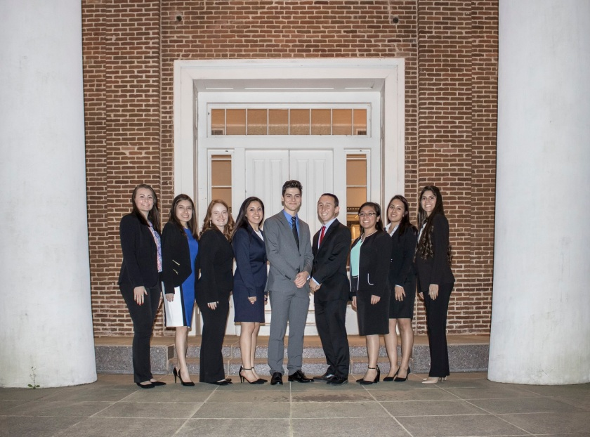 SHSU, LEAP Center, Center for Law Engagement And Politics, LEAP Ambassadors, Texas Supreme Court, Austin Hall