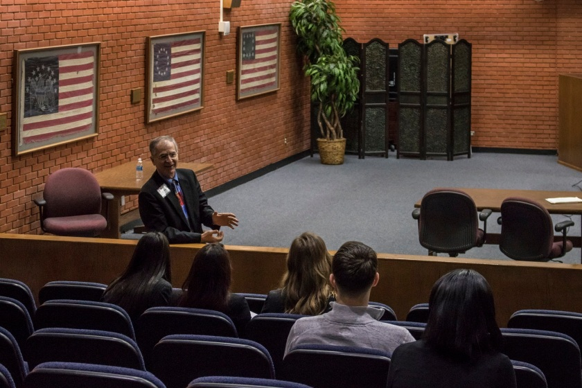 Texas 10th Court of Appeals, Mike Yawn, SHSU, LEAP Center, Center for Law Engagement And Politics, LEAP Ambassadors, Pre-Law