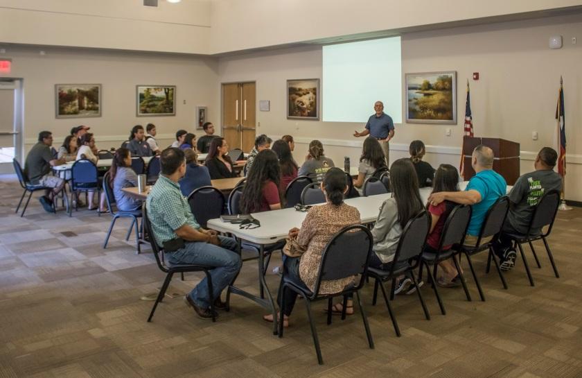 Huntsville Public Library, Councilmember Joe Rodriguez, LEAP Center, Center for Law Engagement And Politics, SHSU, Citizenship Preparatory Class