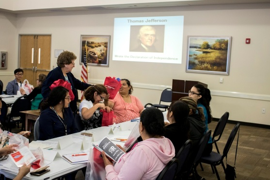 Daughters of the American Revolution, LEAP Center, Center for Law Engagement And Politics, SHSU, Citizenship Preparatory Class, Huntsville Public Library