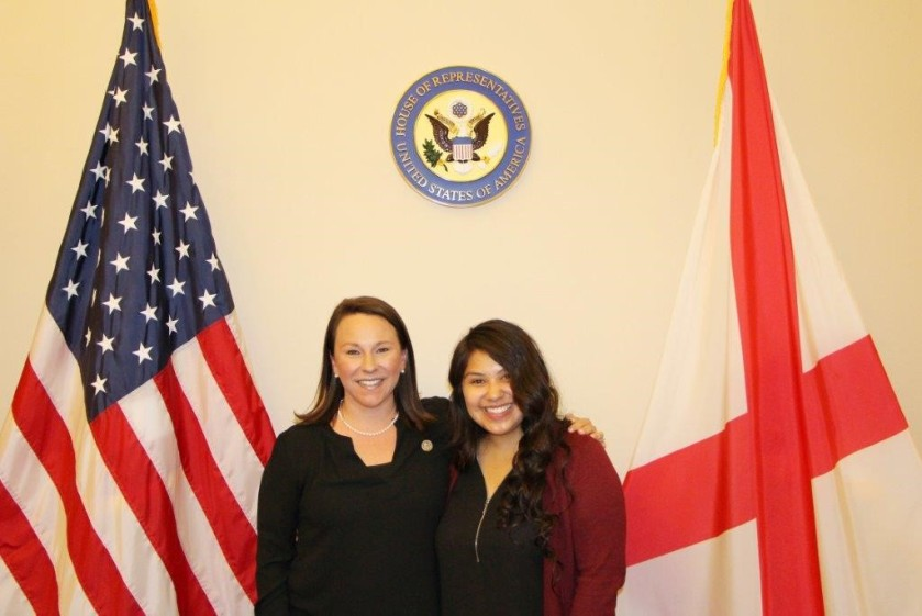 Congresswoman Martha Roby, Megan Chapa, SHSU, Running Start, LEAP Center, Center for Law Engagement And Politics