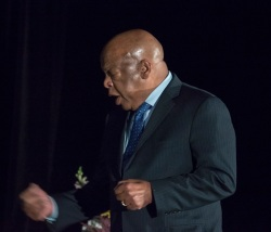 National Book Award Festival, SHSU, Sam Houston State University, LEAP Center, Center for Law Engagement And Politics, John Lewis