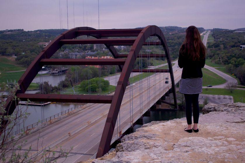 Kaitlyn Tyra, Austin Internship Program, LEAP Center, Senator Charles Schwertner, Pennybacker Bridge