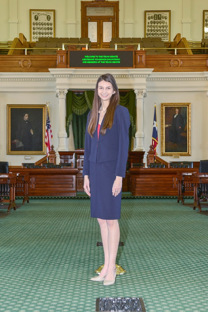 Kaitlyn Tyra, Austin Internship Program, LEAP Center, Senator Charles Schwertner