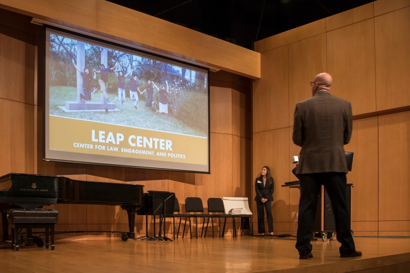 LEAP Center, Center for Law Engagement And Politics, SHSU, Founders Day, Sam Houston Austin Internship Program