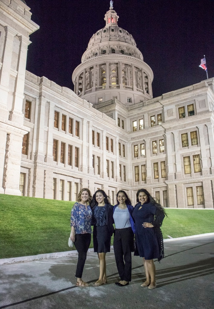 LEAP Ambassadors, Texas Capitol Building, Austin, LEAP Center, Center for Law Engagement And Politics