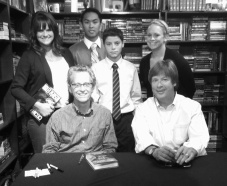 Ryan with Ridley Pearson and Dave Barry