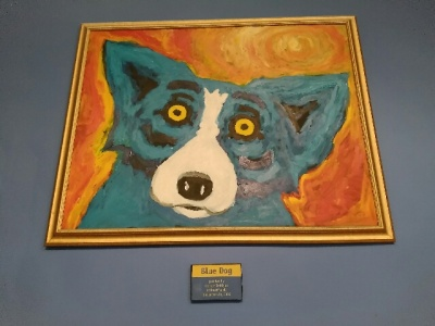 George Rodrigue, Blue Dog, LEAP Center, LEAP Ambassadors, Austin Interns, Austin, Book People, SHSU