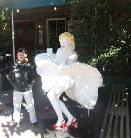 Ryan with Marilyn Monroe