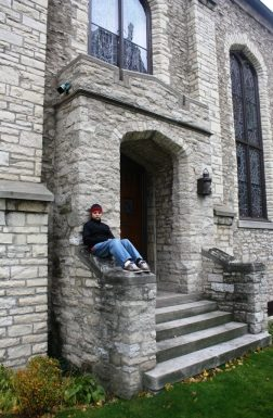"""Ryan at Mariners' Church immortalized by """"The Wreck of the Edmund Fitzgerald"""""""