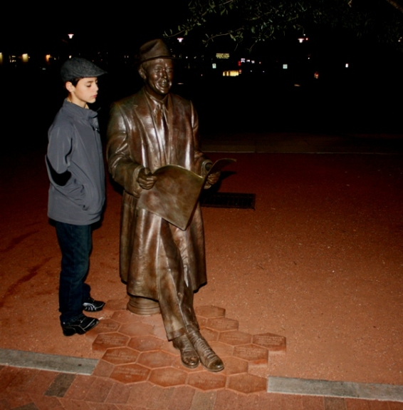 Ryan with Johnny Mercer