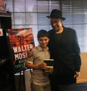 Ryan with Walter Mosley