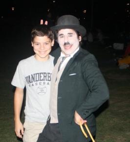 Ryan with Charlie Chaplin