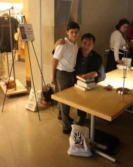 Ryan with Anthony Horowitz