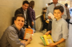 Ryan with Jeff Kinney