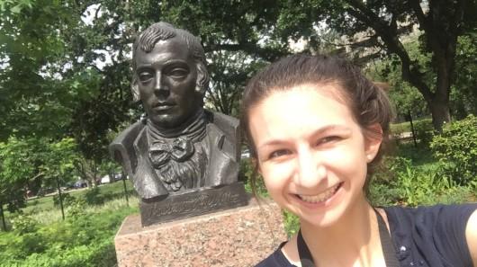 Enrico Cerrachio, Sam Houston Sculpture, LEAP Ambassadors, Center for Law Engagement And Politics, LEAP Center, Hermann Park,
