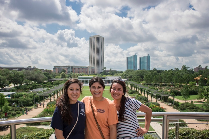 SHSU, Sam Houston State University, Centennial Gardens, Hermann Park, LEAP Center, Center for Law Engagement And Politics, LEAP Ambassadors, Scavenger Hunt, Houston