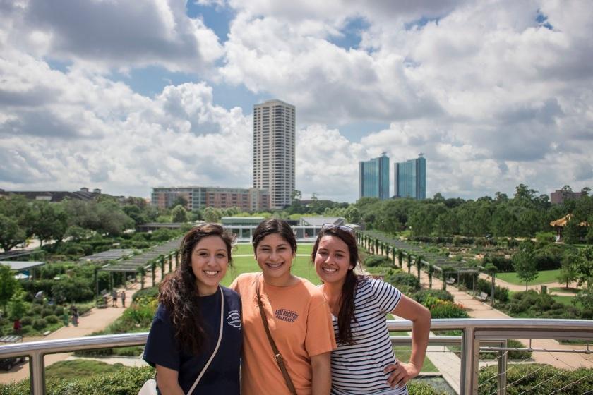 SHSU, Sam Houston State University, Centennial Gardens, Hermann Park, LEAP Center, Center for Law Engagement And Politics, LEAP Ambassadors, Scavenger Hunt, Houston