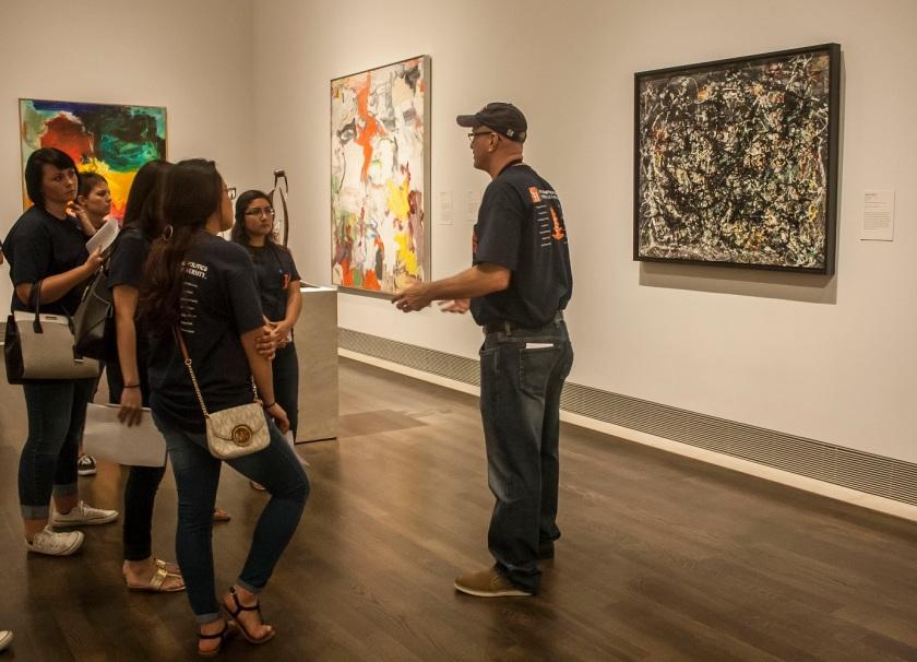 Museum of Fine Arts Houston, MFAH, SHSU, LEAP Center, Center for Law Engagement And Politics, LEAP Center, LEAP Ambassadors, Education, Jackson Pollock