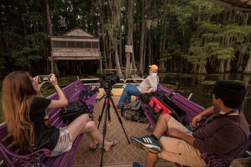 Mark Burns, Documentary, SHSU, LEAP Center, LEAP Ambassadors, SHSU, Photography, Caddo Lake