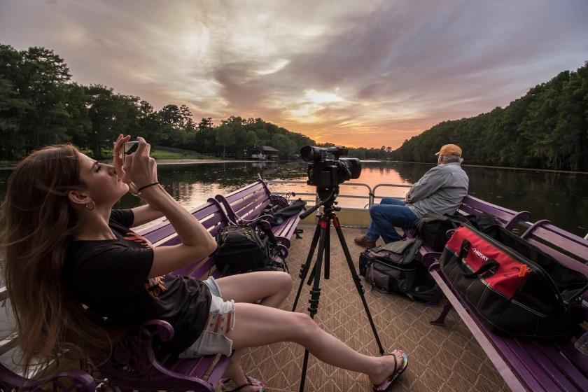 LEAP Center, Mark Burns, SHSU, Sierra Dolch, Documentary, Photography, Caddo Lake