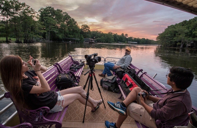 LEAP Center, SHSU, Documentary, Photography, Mark Burns, Caddo Lake