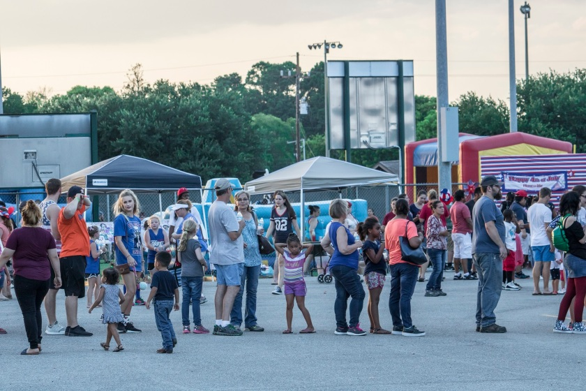 City of Huntsville, Parks and Recreation, July 4th, LEAP Ambassadors, SHSU, LEAP Center
