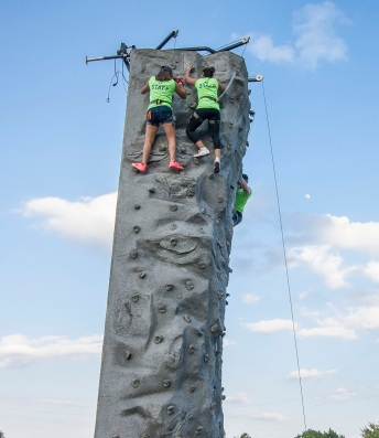 City of Huntsville, Parks and Recreation, July 4th, LEAP Ambassadors, SHSU, LEAP Center, Rock Climbing
