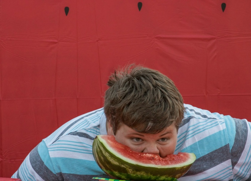 City of Huntsville, Parks and Recreation, July 4th, LEAP Ambassadors, SHSU, LEAP Center, Watermelon Eating Contest