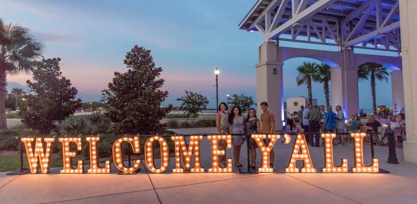 Southern Legislative Conference, Biloxi MS, SHSU, Sam Houston State University, LEAP Ambassadors, Jones Marina and Municipal Park, Gulfport MS