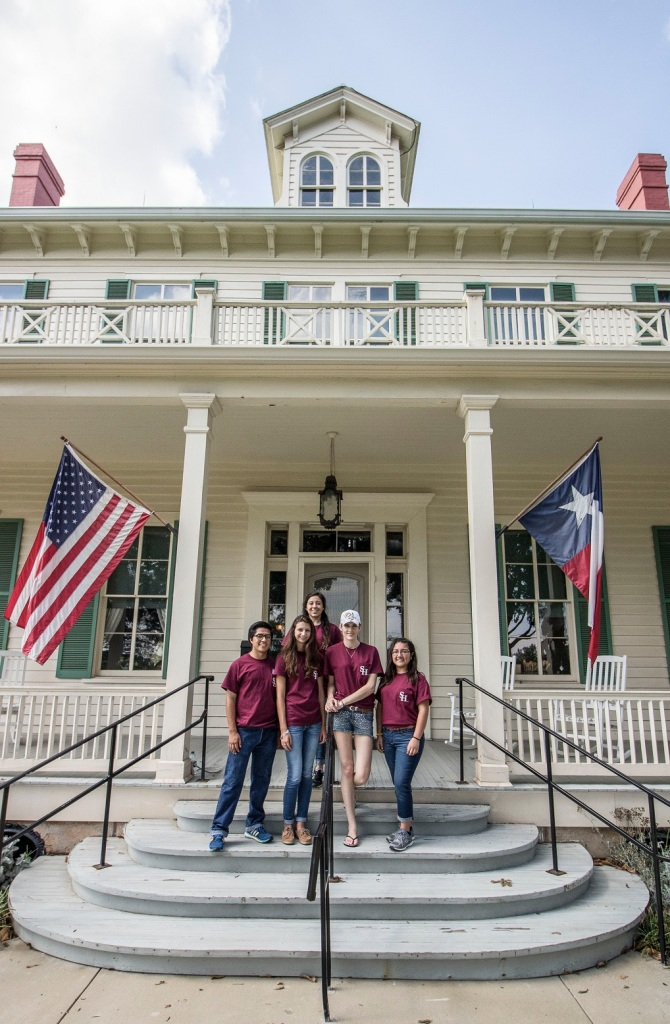 Starr Historical Home, LEAP Center, LEAP Ambassadors, SHSU, Marhsall Texas