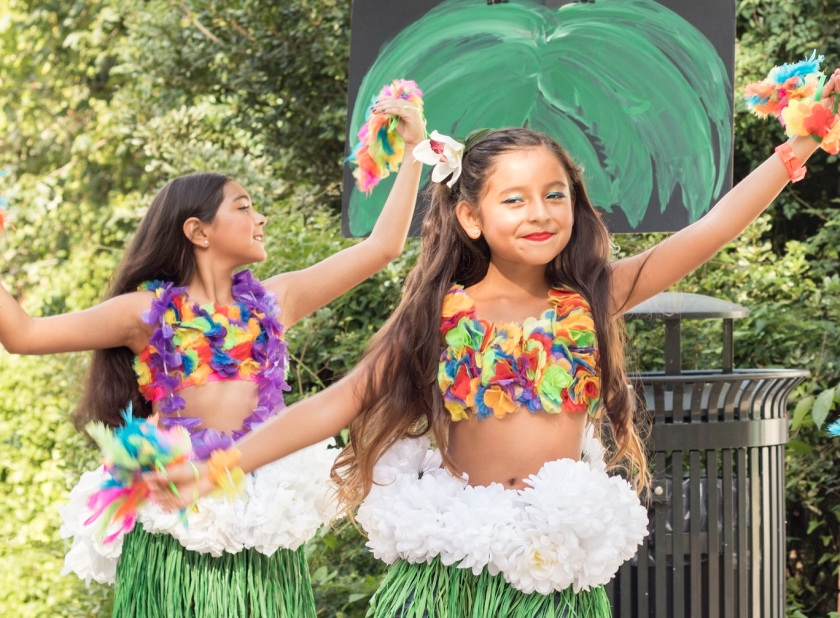 Wynne Home Arts Center, Huntsville Luau, LEAP Ambassadors, LEAP Center, SHSU, Hula Hoop