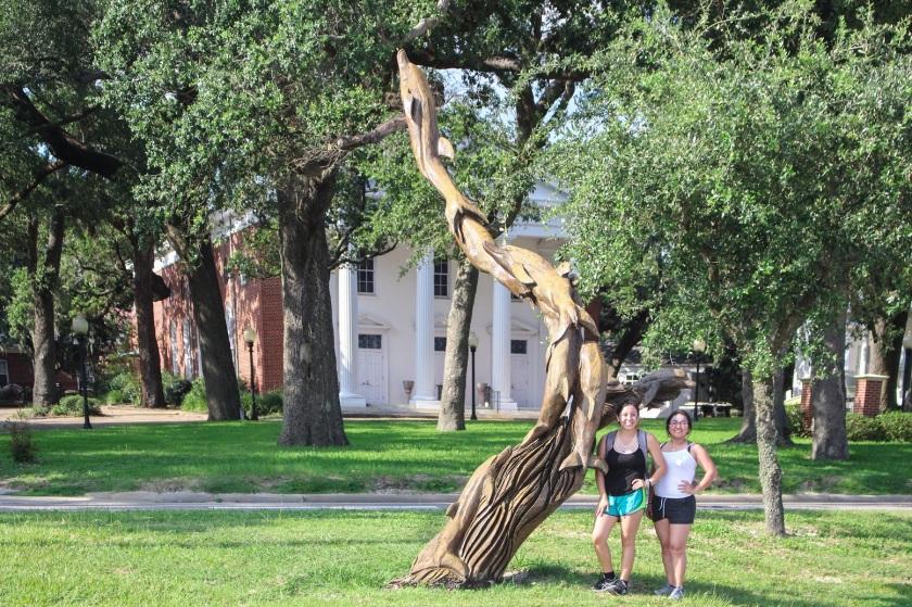 Biloxi MS, Southern Legislative Conference, LEAP Ambassadors, LEAP Center, SHSU, Tree Sculptures