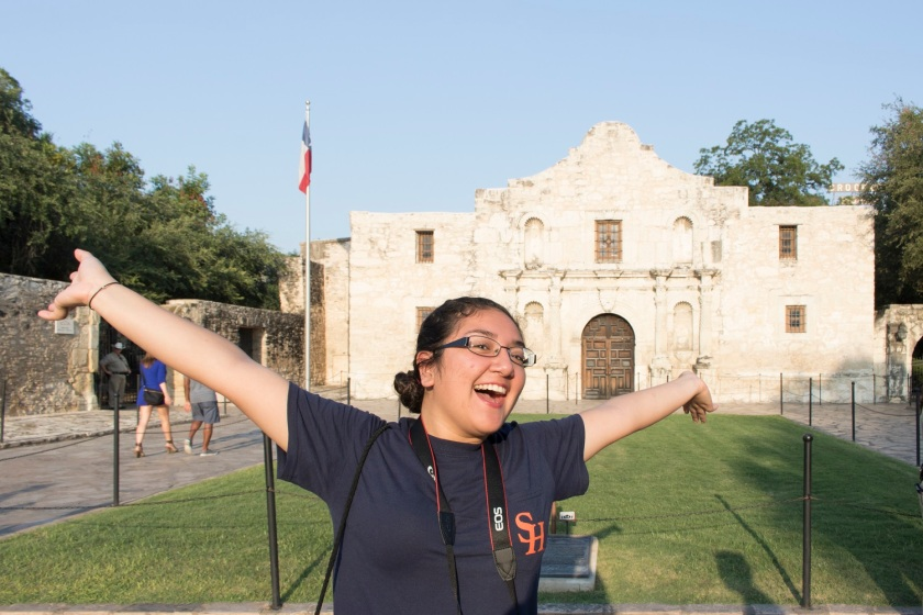 San Antonio, SHSU, LEAP Center, LEAP Ambassadors, The Alamo