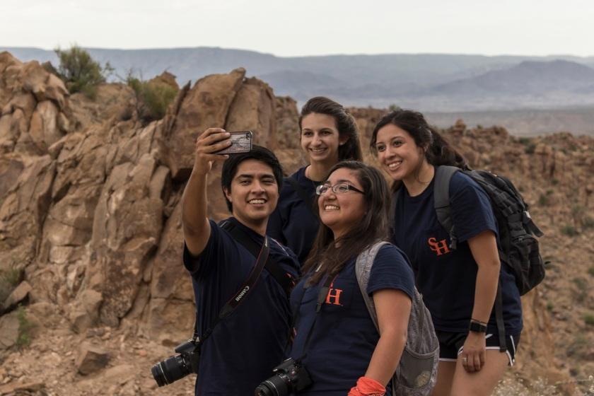 LEAP Center, LEAP Ambassadors, SHSU, Big Bend National Park, Balanced Rock