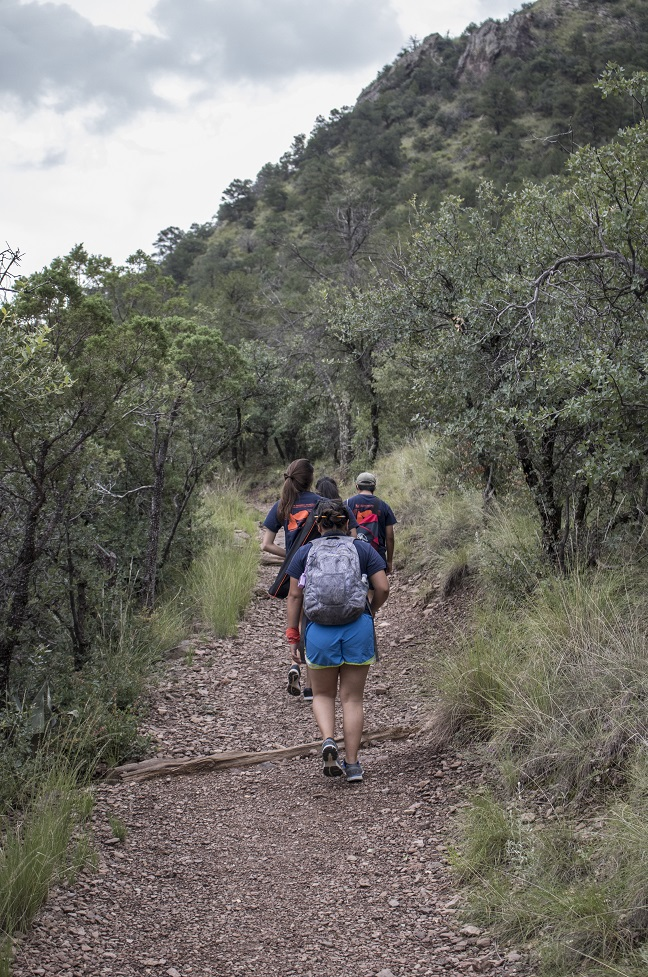 LEAP Center, LEAP Ambassadors, SHSU, Big Bend National Park, Lost Mine Trail