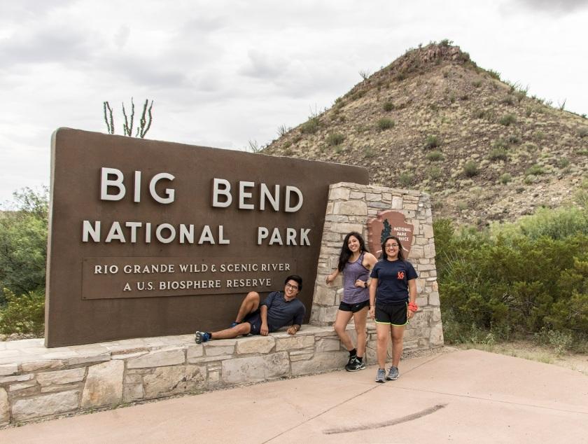 SHSU, Sam Houston State University, LEAP Ambassadors, LEAP Center, Big Bend National Park