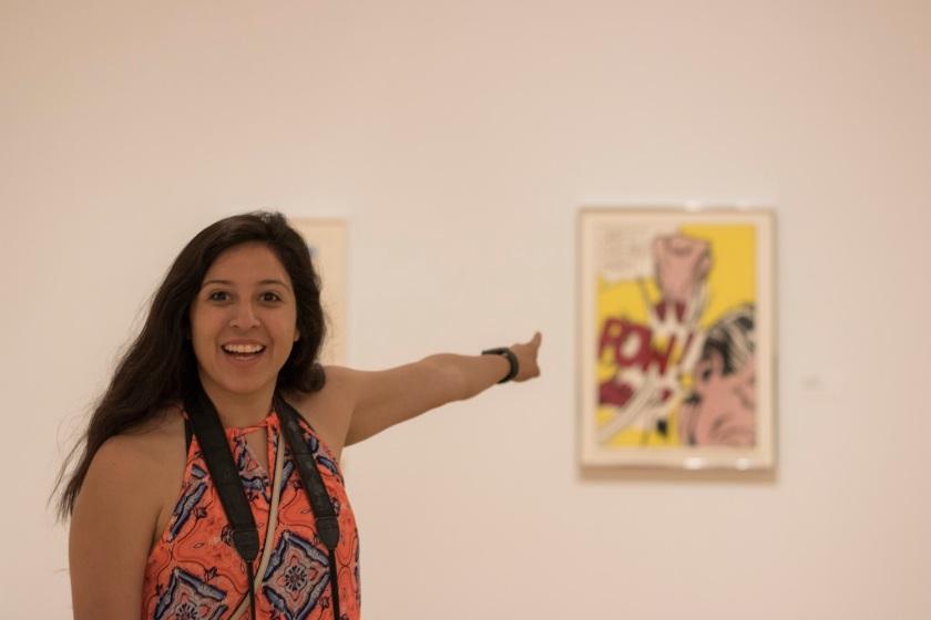 LEAP Ambassadors, LEAP Center, SHSU, Dallas Museum of Art, Roy Lichtenstein