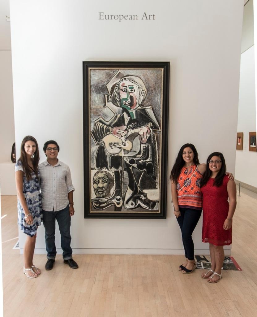 LEAP Ambassadors, LEAP Center, SHSU, Dallas Museum of Art, Pablo Picasso