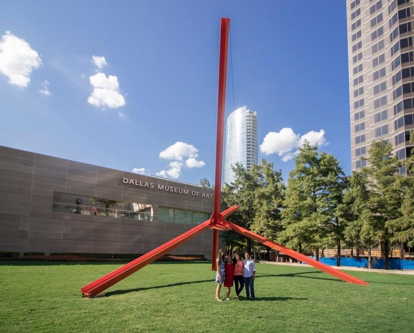 LEAP Ambassadors, LEAP Center, SHSU, Dallas Museum of Art, Mark di Suvero