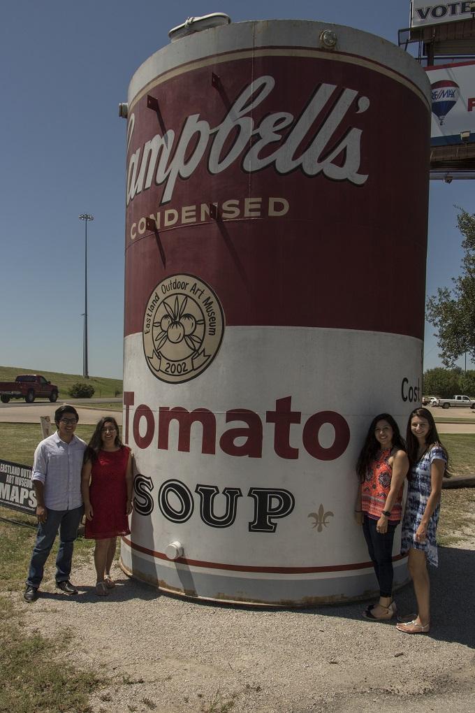LEAP Ambassadors, LEAP Center, SHSU, Eastland TX, Andy Warhol