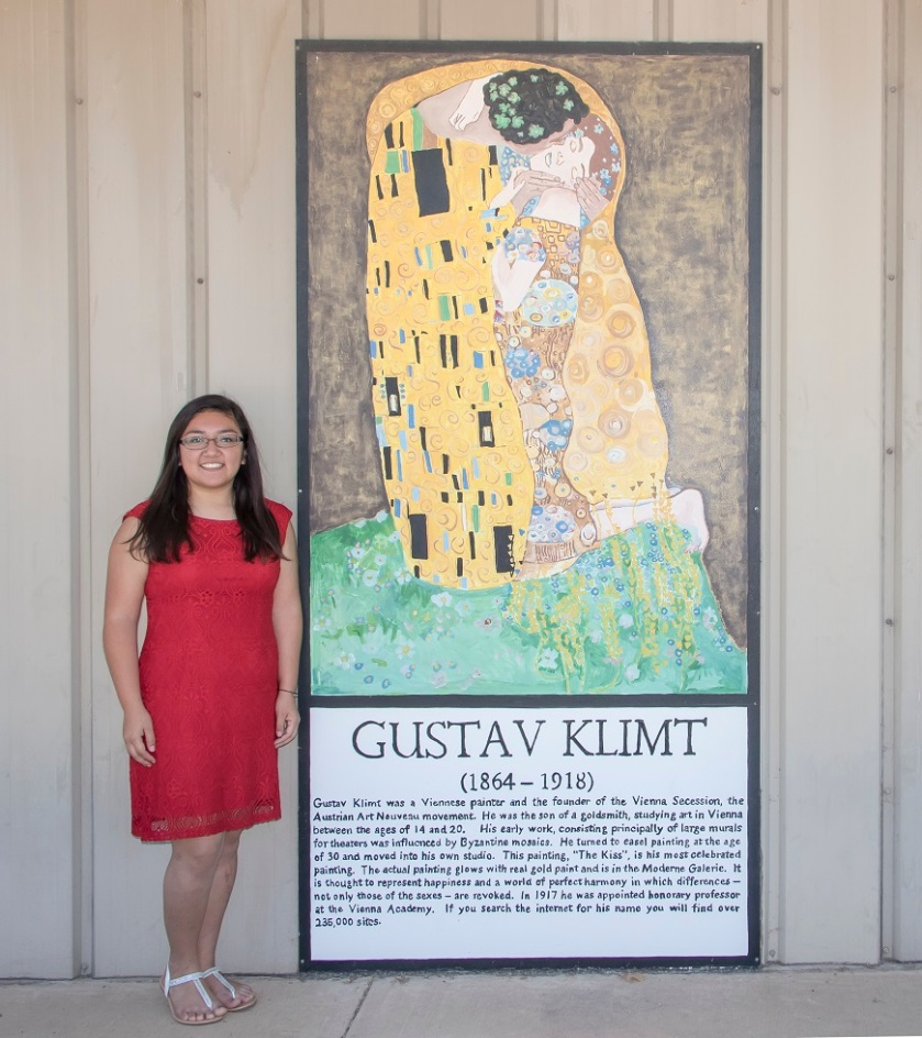 LEAP Ambassadors, LEAP Center, SHSU, Eastland TX, Gustav Klimt