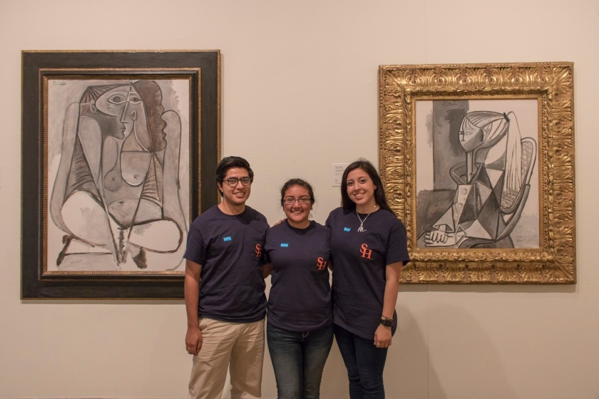 McNay Museum, San Antonio TX, LEAP Center, SHSU, LEAP Ambassadors, Picasso