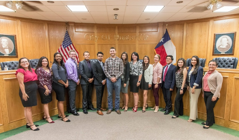 LEAP Center, LEAP Ambassadors, SHSU, Mock City Council