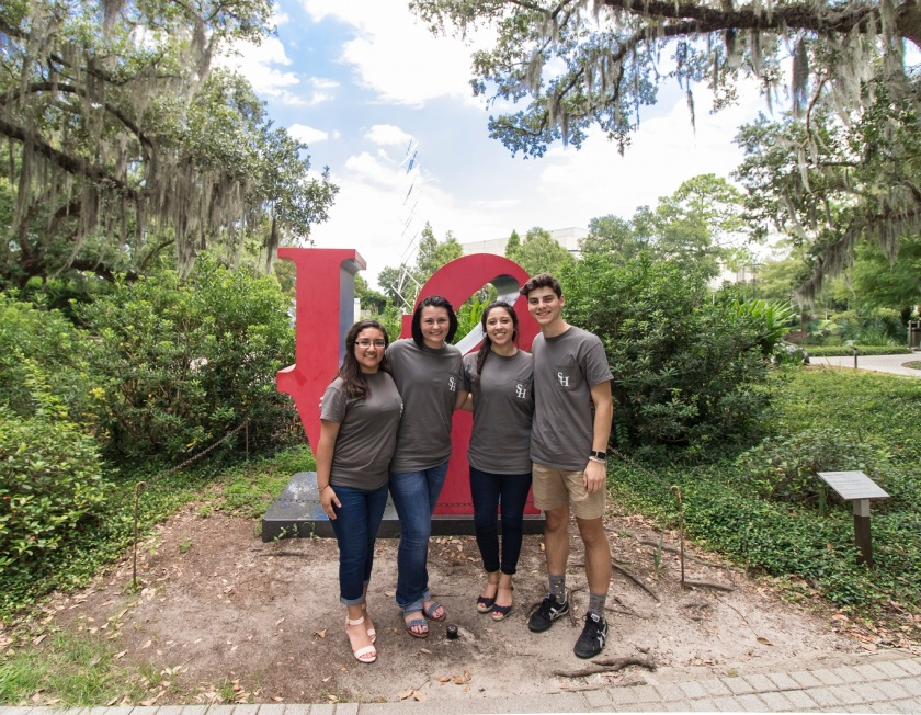 NOLA, New Orleans, Besthoff Sculpture Garden, LEAP Ambassadors, LEAP Center, SHSU, Love, Robert Indiana