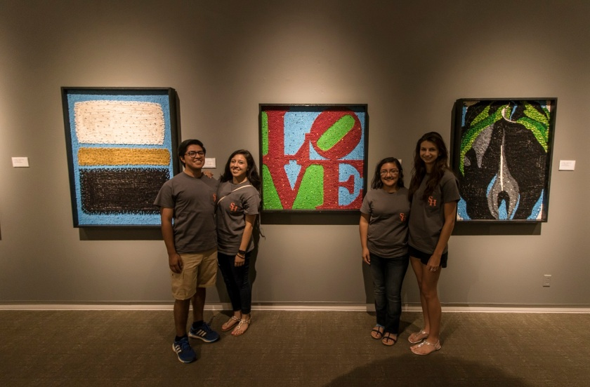LEAP Center, LEAP Ambassadors, SHSU, Ellen Noel Art Museum, Odessa TX, Herb Williams